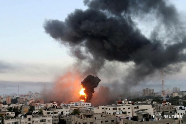 شهيدان و6 إصابات في قصف صاروخي على مخيم البريج ورفح