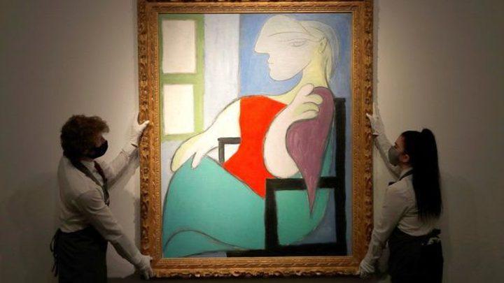 """لوحة بيكاسو """"امرأة جالسة قرب نافذة"""" تباع بأكثر من مئة مليون دولار"""
