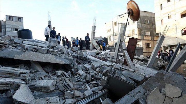 صواريخ الاحتلال تمسح أسرة من عائلة الطناني من السجل المدني