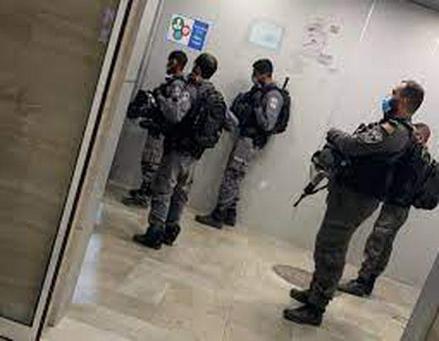 الاحتلال يقتحم مستشفى المقاصد في القدس