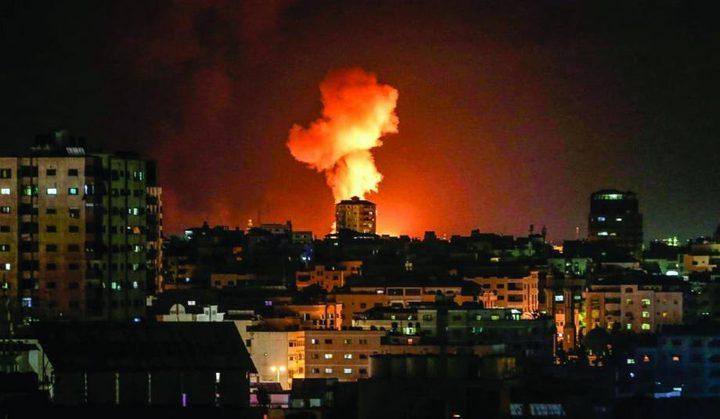 استشهاد طفلة بشظية صاروخ من طائرات الاحتلال في جباليا