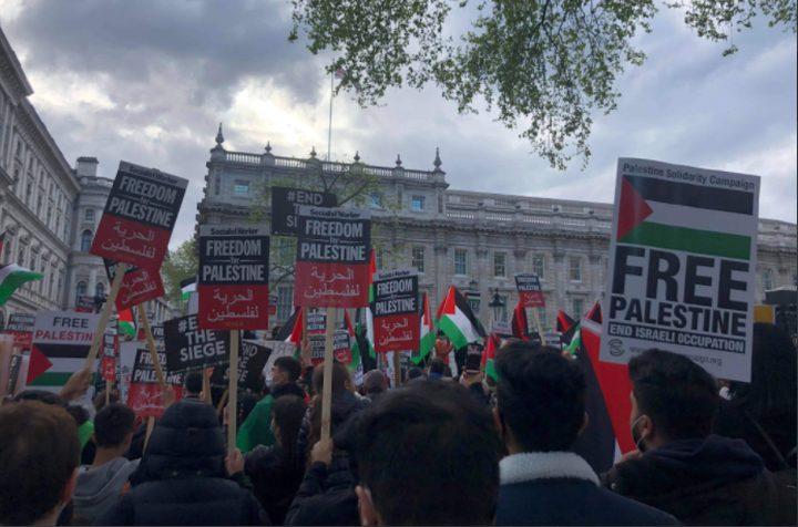 مدن وعواصم العالم تتظاهر ضد عدوان الاحتلال على الشعب الفلسطيني