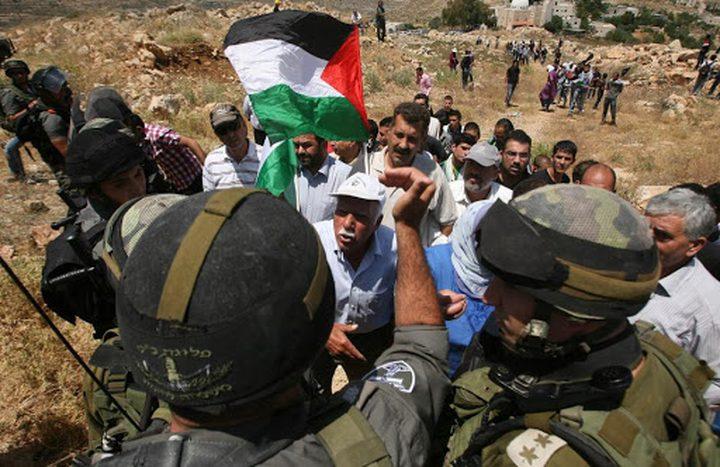 الاحتلال يقمع مسيرة في بيت لحم ويصيب عددا بالاختناق