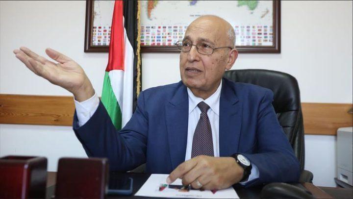 """شعث لـ""""النجاح"""": لا نريد وقف اطلاق النار فقط بل انهاء الاحتلال"""