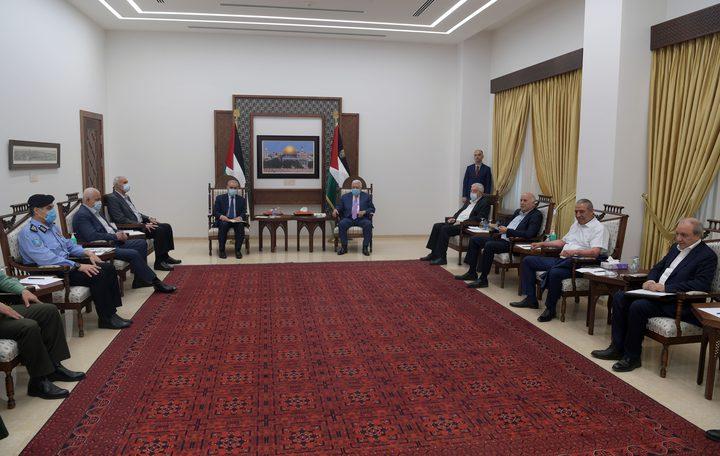الرئيس يترأس اجتماعا لمتابعة استمرار عدوان الاحتلال على شعبنا