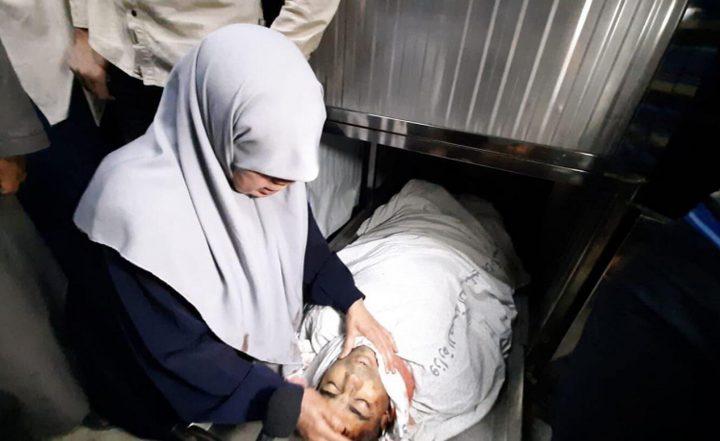 خنساء غزة تودع ابنها الثالث الذي استشهد في القصف على غزة