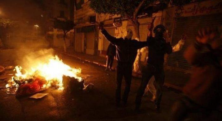 اصابة شاب بالرصاص الحي بمواجهات في النبي صالح