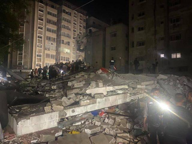 """""""الأورومتوسطي"""" يدين تدمير حي سكني بقطاع غزة"""