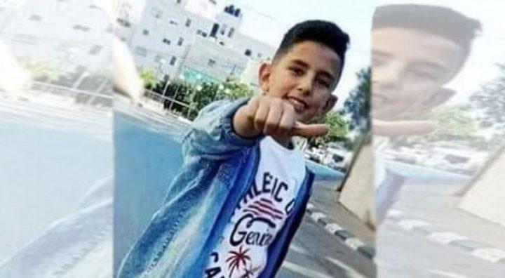 جماهير غفيرة تشيع جثمان الطفل الشهيد محمد يونس فريجات بالخليل