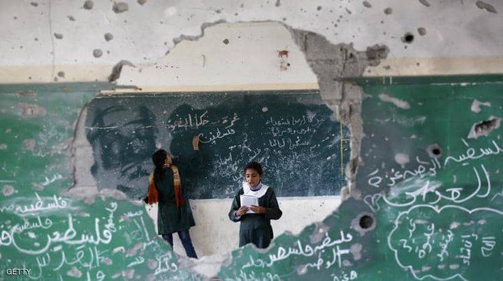 الاحتلال يبلغ مؤسسات أممية بنيته قصف مدرستين في غزة