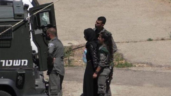 الاحتلال يعتقل أمّاً وثلاثة من أبنائها شمال أريحا