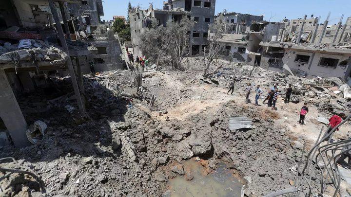 4 شهداء جراء سلسلة غارات شنها الاحتلال على غزة وجباليا