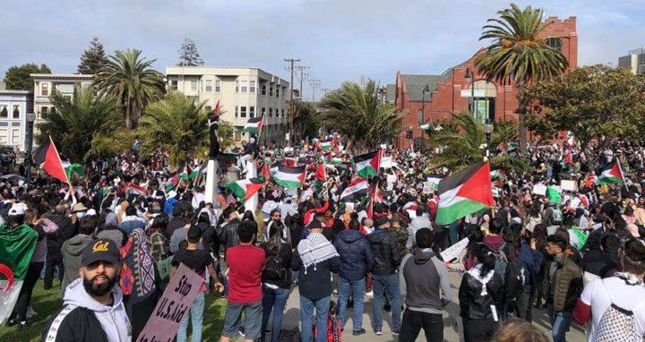 كندا: مظاهرات منددة بالعدوان الإسرائيلي على شعبنا