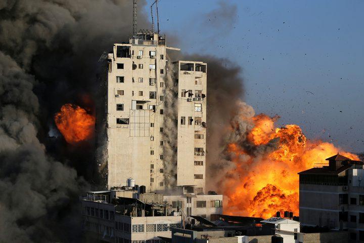 عدوان كثيف على غزة أكثر من 100 غارة من الشمال حتّى الجنوب