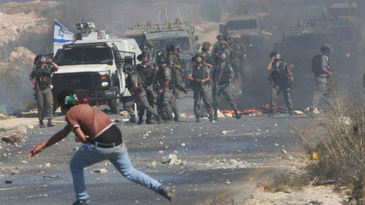 مواجهات مع الاحتلال في بلدة الخضر جنوب بيت لحم
