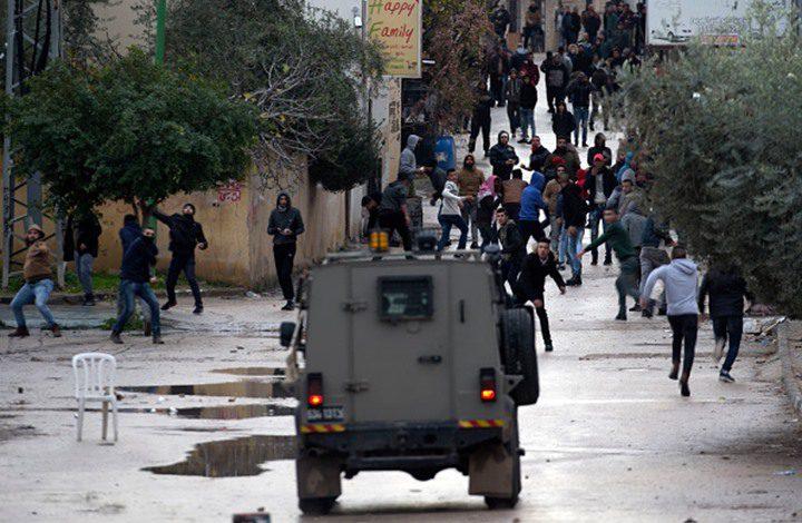 إصابة فتى بجروح خطيرة خلال مواجهات بقرية بلعين