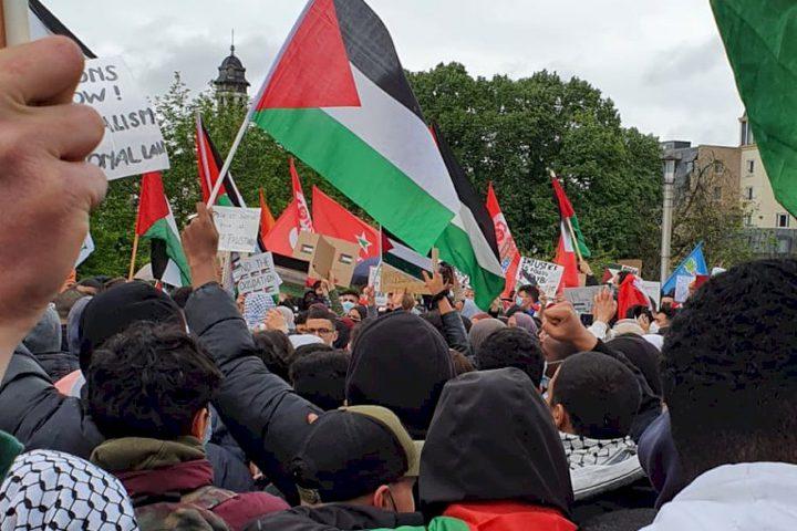 مظاهرات في اندونيسيا تضامنا مع شعبنا الفلسطيني
