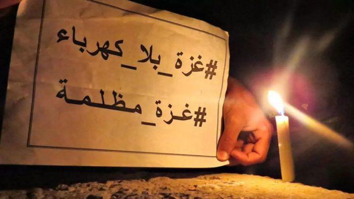 طائرات الاحتلال تدمر خطوط الكهرباء المغذية لغزة