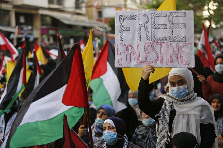 إضراب شامل بمخيمات اللاجئين في لبنان رفضا لعدوان الاحتلال
