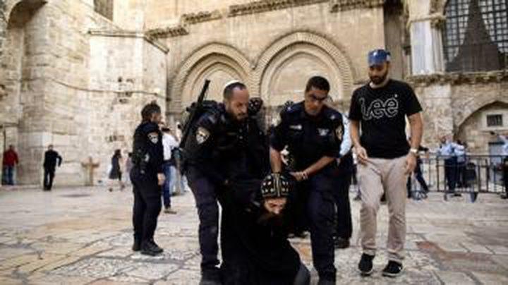 مستوطنون يعتدون على رجال دين مسيحيينبالقدس المحتلة