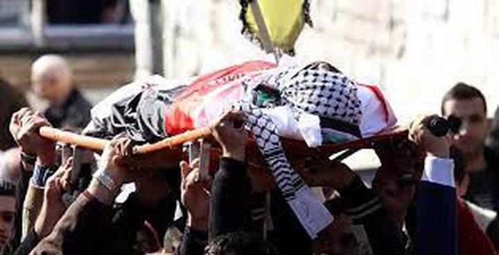 جماهير غفيرة تشيع الشهيدين برناط والكاشف في رام الله