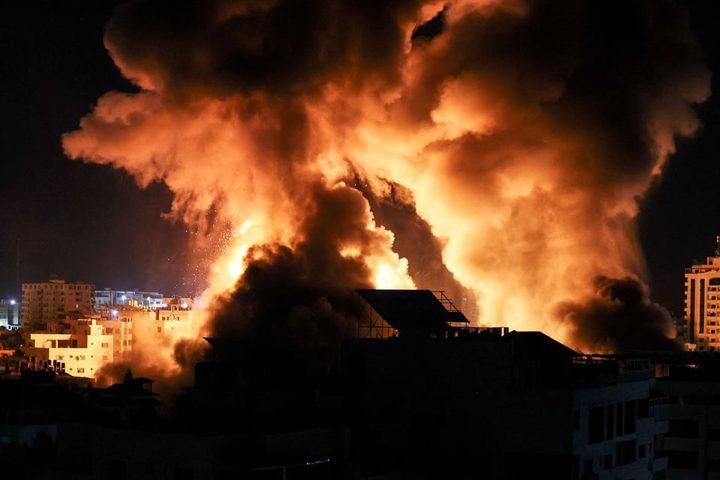 غانتس يطالب بتكثيف هجمات الاحتلال الليلة قبل وقف إطلاق النار