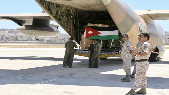الهيئة الخيرية الأردنية الهاشمية تسير قافلة مساعدات إلى فلسطين