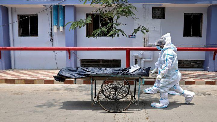 الهند تسجل مستوى قياسيا جديدا بالمعدل اليومي لوفيات كورونا