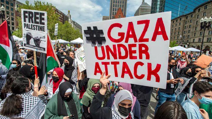 مسيرة لنصرة شعبنا وفعاليات تعم تونس تنديدا بجرائم الاحتلال