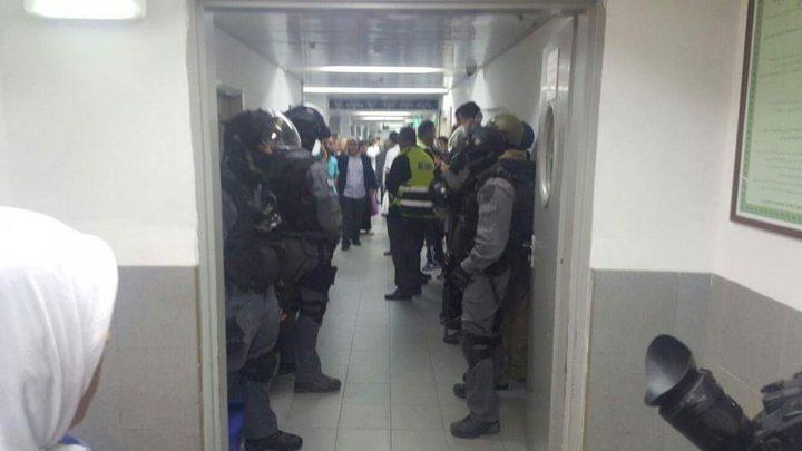قوات الاحتلال تقتحم مستشفى المقاصد في القدس