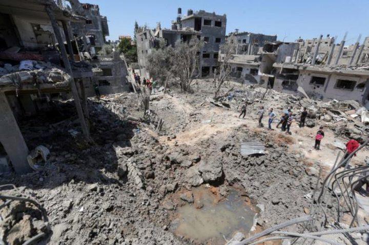 تقرير حول العدوان على قطاع غزة وتفاقم أزمة المياه والصرف الصحي