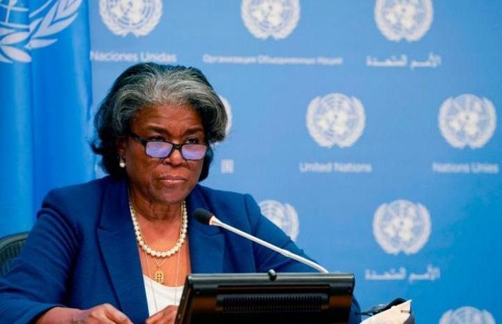 مندوبة أميركا في الأمم المتحدة: نسعى لإحلال السلام في المنطقة