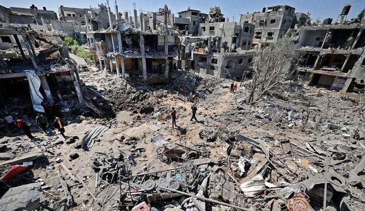 انتشال جثامين 10 مواطنين من تحت الأنقاض بخان يونس وغزة