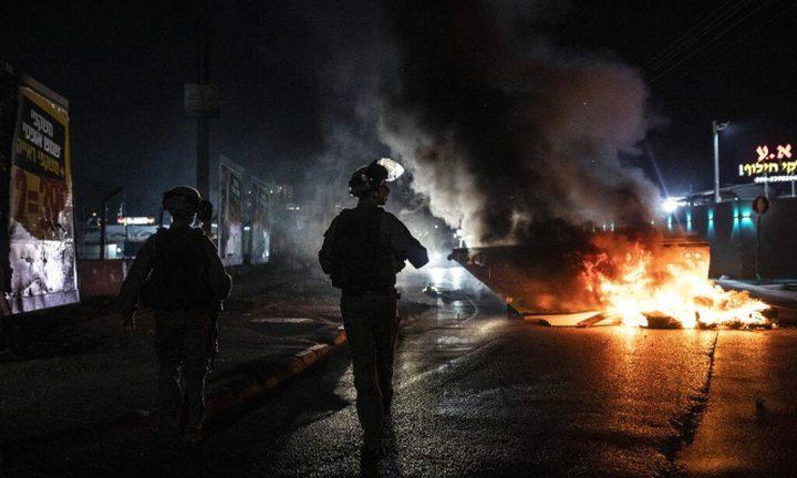 الشرطة تقمع المتظاهرين في أم الفحم وتعتقل شابين