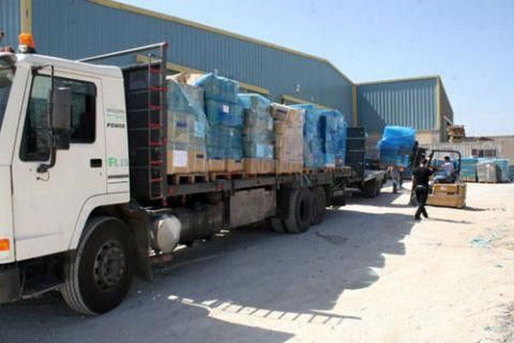 وزيرة الصحة: وصول شحنة أدوية لغزة بعد أيام من منع الاحتلال دخولها