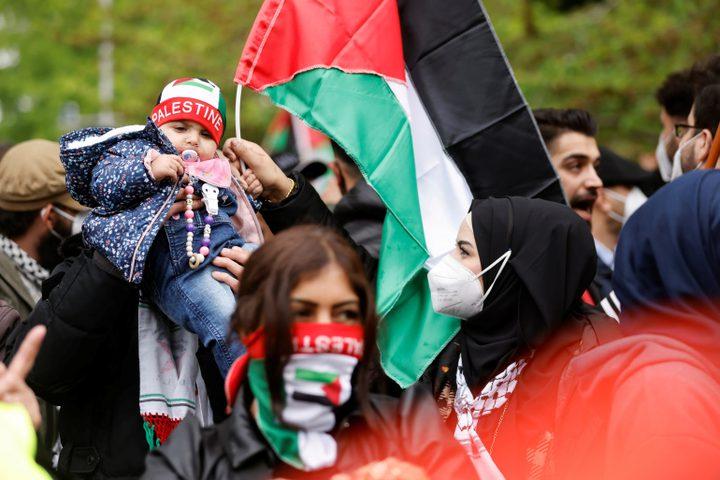 مهرجان تضامني مع فلسطين بحضور سياسي في العراق