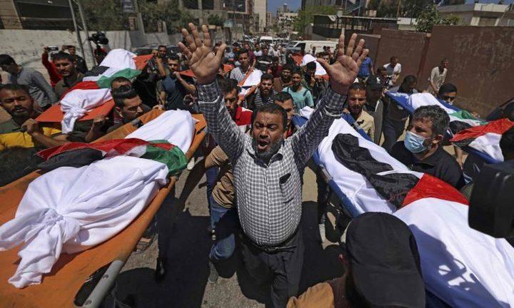 غزة: ارتفاع عدد الشهداء إلى 248 بينهم 66 طفلًا و 39 سيدة و 17 مسن