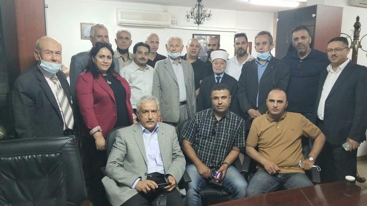 وفد من مفوضية التعبئة والتنظيم بحركة فتح يزور المفتي محمد حسين