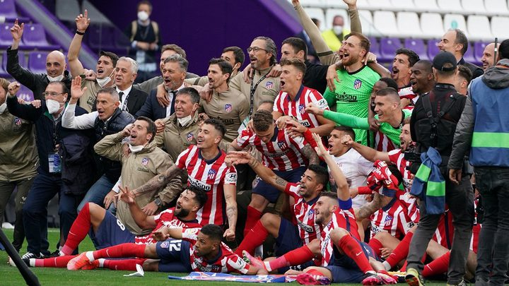 أتلتيكو مدريد يتوج بلقب بطل الدوري الإسباني