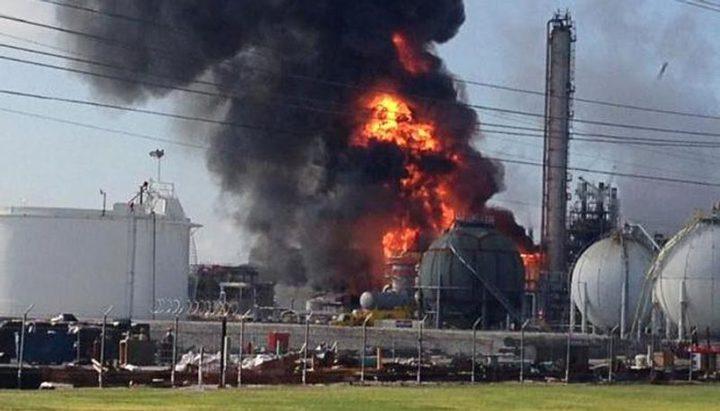 إصابة 9 أشخاص بانفجار في مصنع كيماويات في إيران