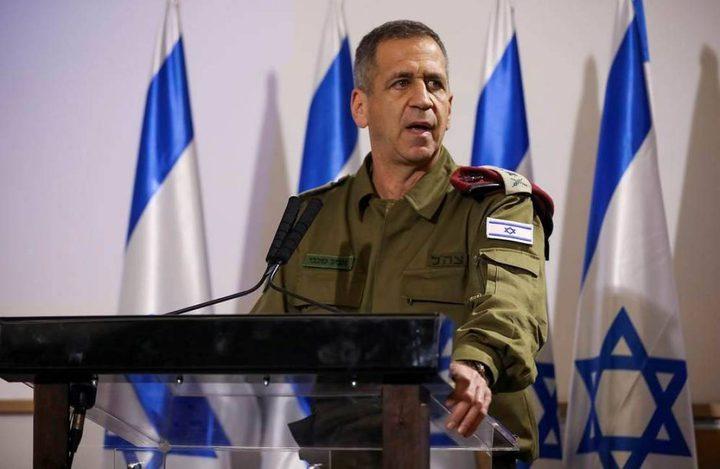 كوخافي يوصي بعدم تحويل أموال إعادة إعمار غزة لحركة حماس