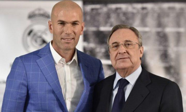 رئيس ريال مدريد يقنع زيدان بتأجيل إعلان مصيره