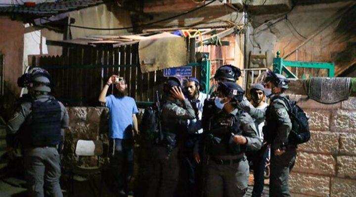 عشرات المواطنين يعتصمون في سلوان احتجاجا التهجير