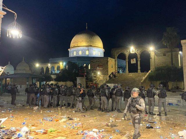 التميمي يحذّر من انتهاكات قوات الاحتلال بحق المسجد الأقصى