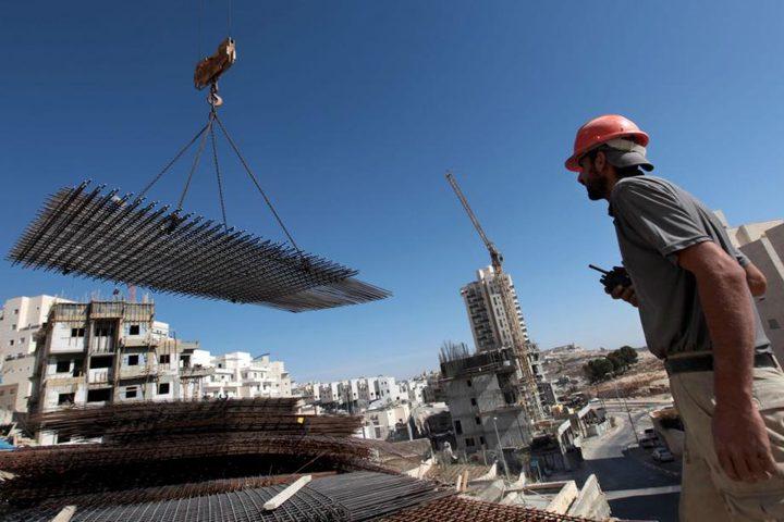 إرتفاع مؤشر أسعار تكاليف البناء وشبكات المياه والطرق في الضفة
