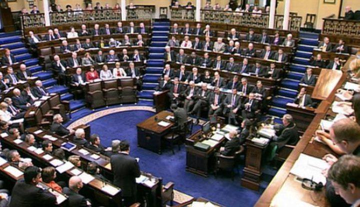البرلمان الايرلندي يصوت لصالح إدانة الضم للأراضي الفلسطينية