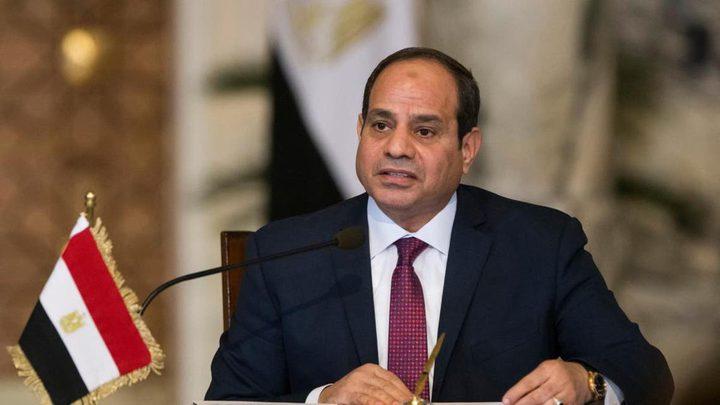 السيسي يؤكد موقف مصر الثابت من القضية الفلسطينية