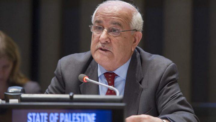 منصور: انتهاكات الاحتلال تشكل جرائم حرب يجب محاسبتها دوليا