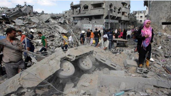 أمير قطر يعلن عن تقديم 500 مليون دولار لدعم إعمار غزة