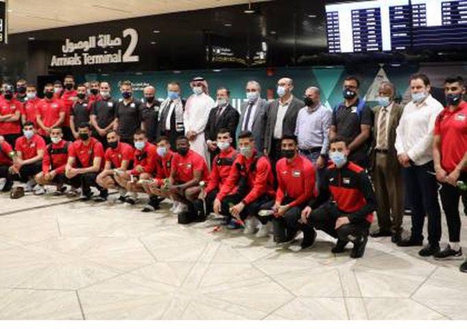 المنتخب الوطني يصل السعودية استعدادًا للتصفيات الآسيوية المزدوجة